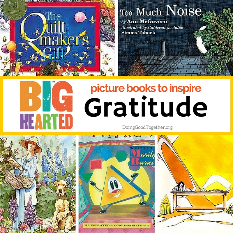 A growing list of picture books to inspire gratitude.