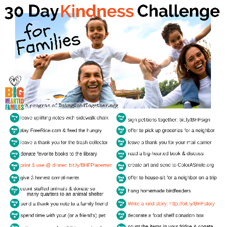 #30 Days of Kindness Challenge