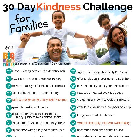 #30 Days of Kindness Challenge