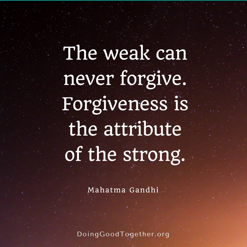 More Often Than Not, Once People Have Taken The Time To Understand Each  Other, Apologies And Forgiveness Naturally Follow.