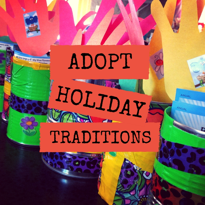 Adopt Holiday Traditions