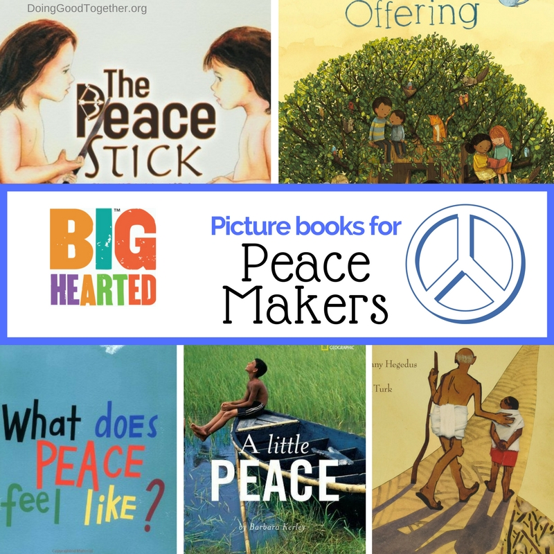 Visit our NEW collection of picture books, perfect for inspiring big conversations about peace.