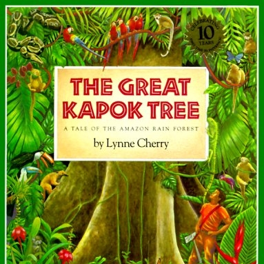 Big-Hearted Cut & Keep Conversation Cards  to enrich your conversation about   The Great Kapok Tree  by Lynne Cherry