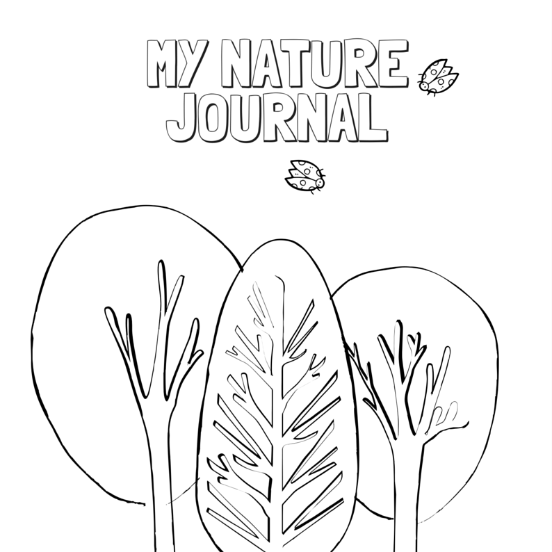 The My Nature Journal is a  one-of-a-kind collection of 17 activities including creative writing, drawing, and mindfulness prompts.
