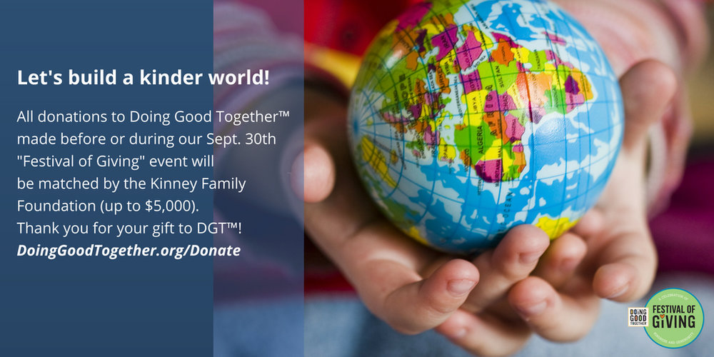 """Visit our  Donate page  to make your donation, and we'll also add your name to our """"World of Donors"""" Wall at the event."""