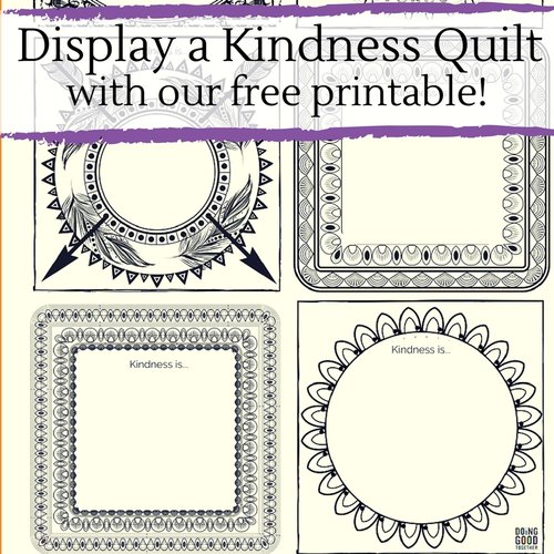 Members, visit our  Exclusive Downloads Collection  to print conversation cards for the book  The Kindness Quilt.