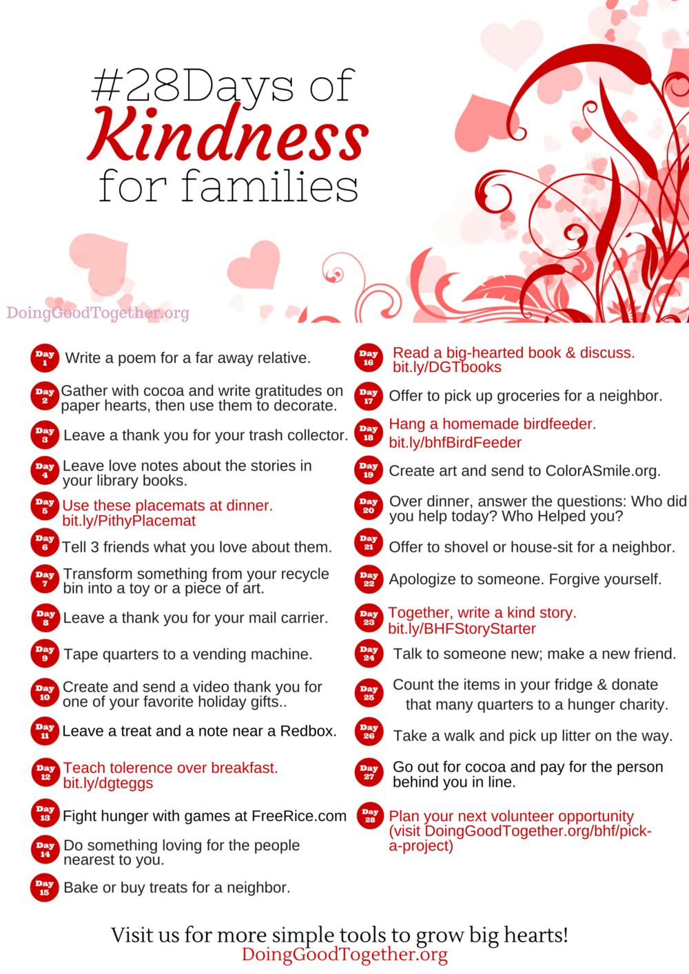 Copy of Valentine Kindness Challenge