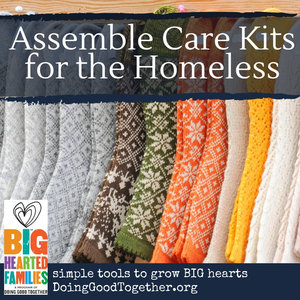 Copy of Homeless Care Kits