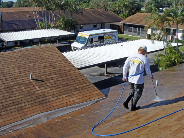 With Our Exclusive ROOF LIFE Cleaning Process, We Donu0027t Use High Pressure.