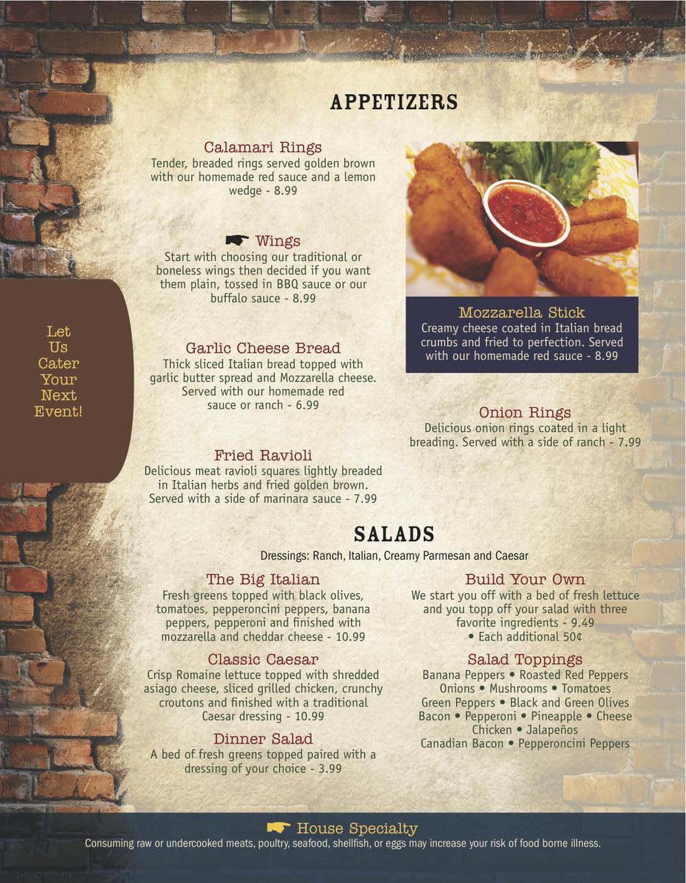 Aptzr and Salads