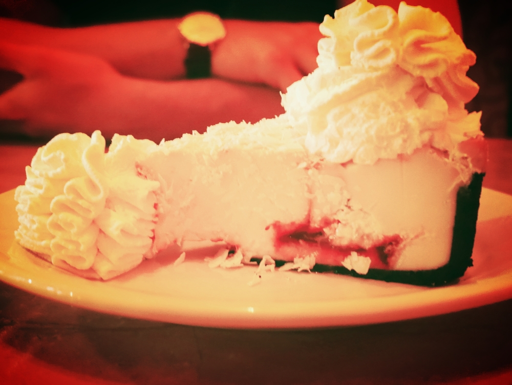 And, of course, the cheesecake!