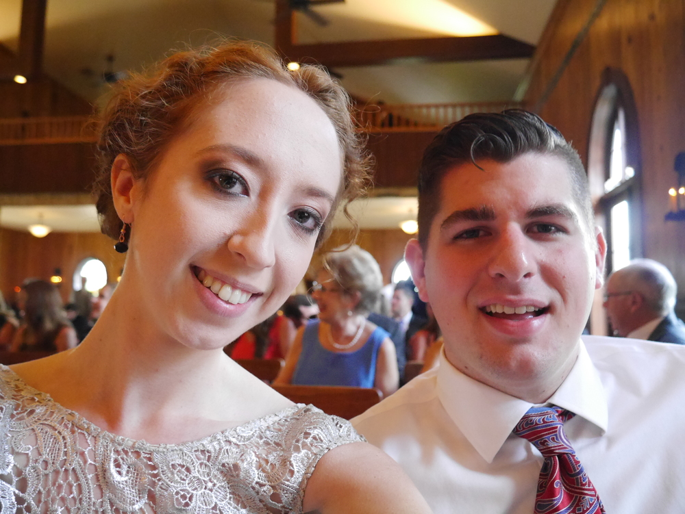 Wedding selfie