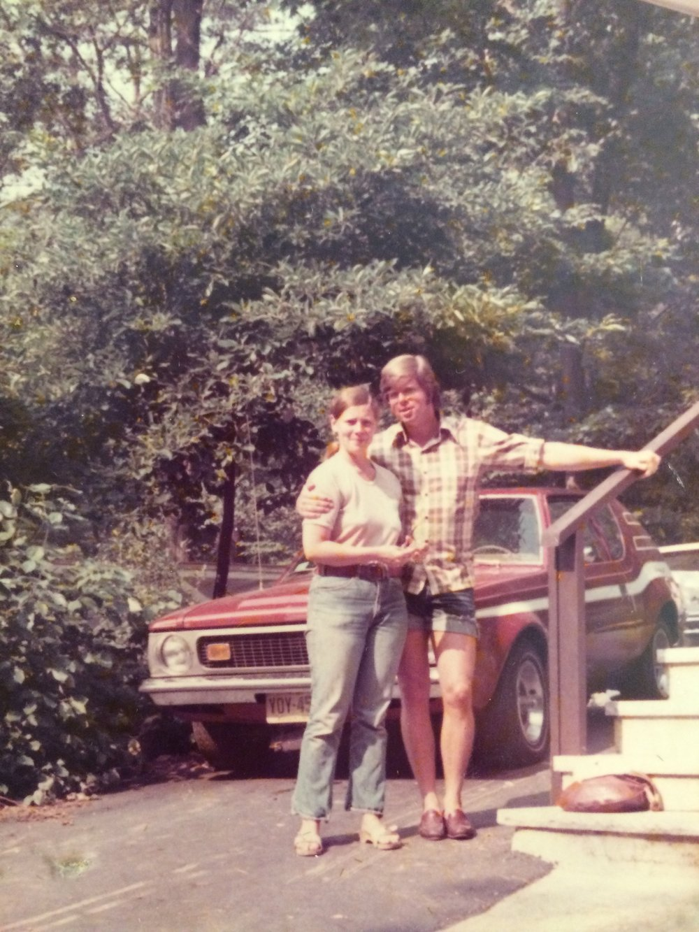 My parents - for no reason other than I wanted to use a photo.