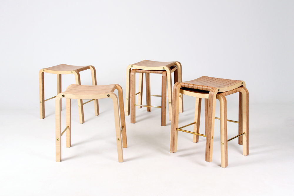 Y.S Collective Profile Stools - Think & Shift