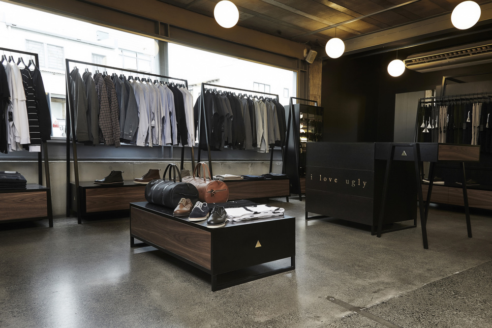 An elegant retail system for a leading, iconic fashion brand // Client: I Love Ugly