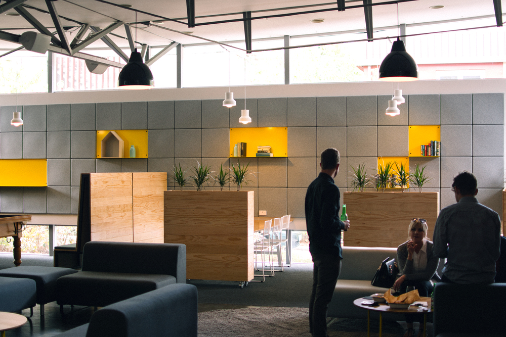 A student social space for work and play // Client: Campus Living Villages