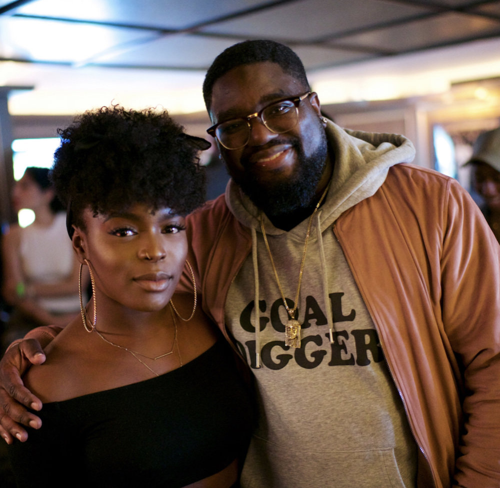 Amor and Comedian Lil Rel