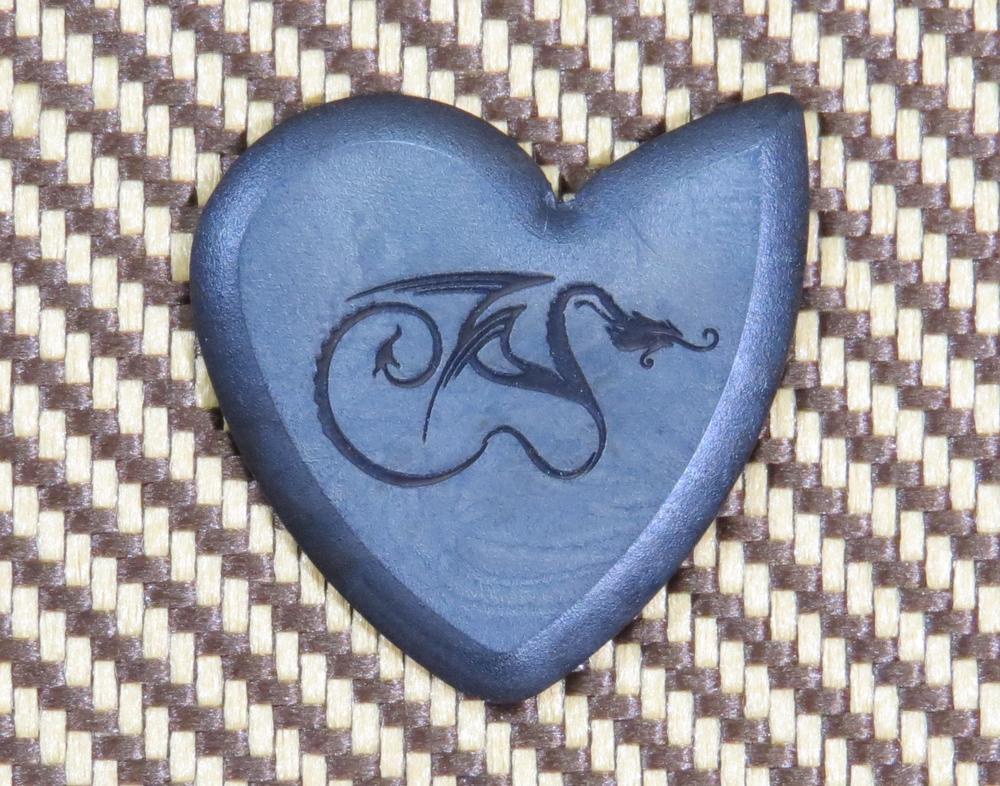 Original Dragons Heart Guitar Pick