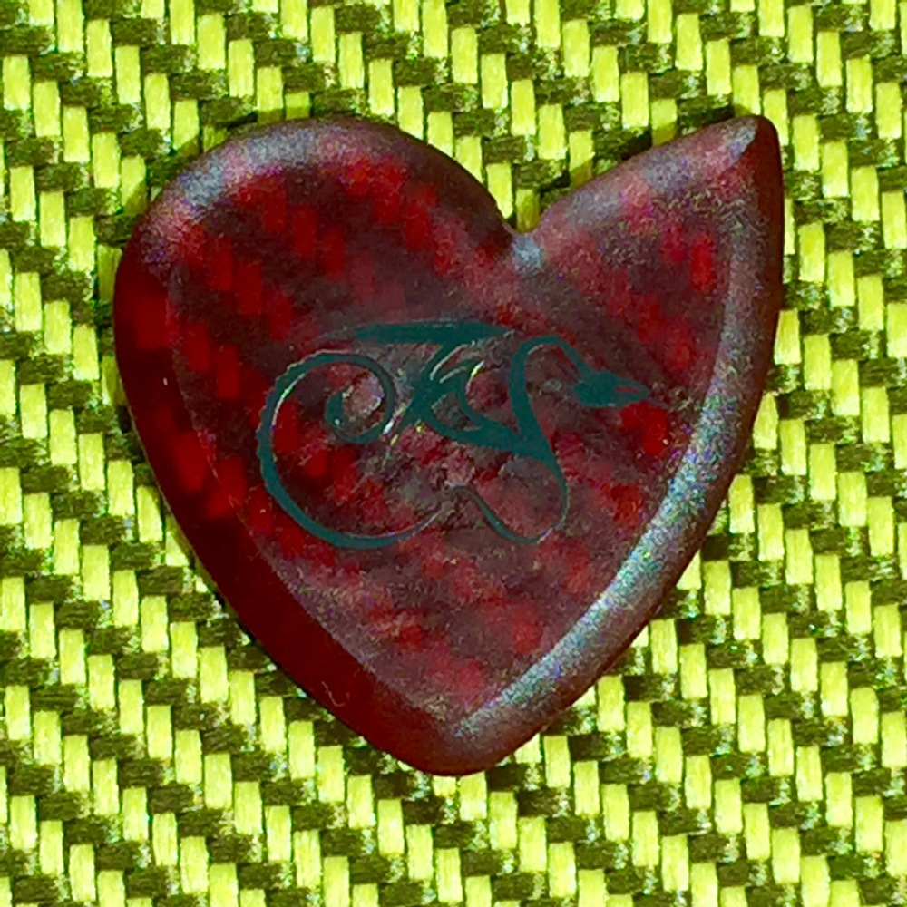 Blood Red Faux Dragon's Heart