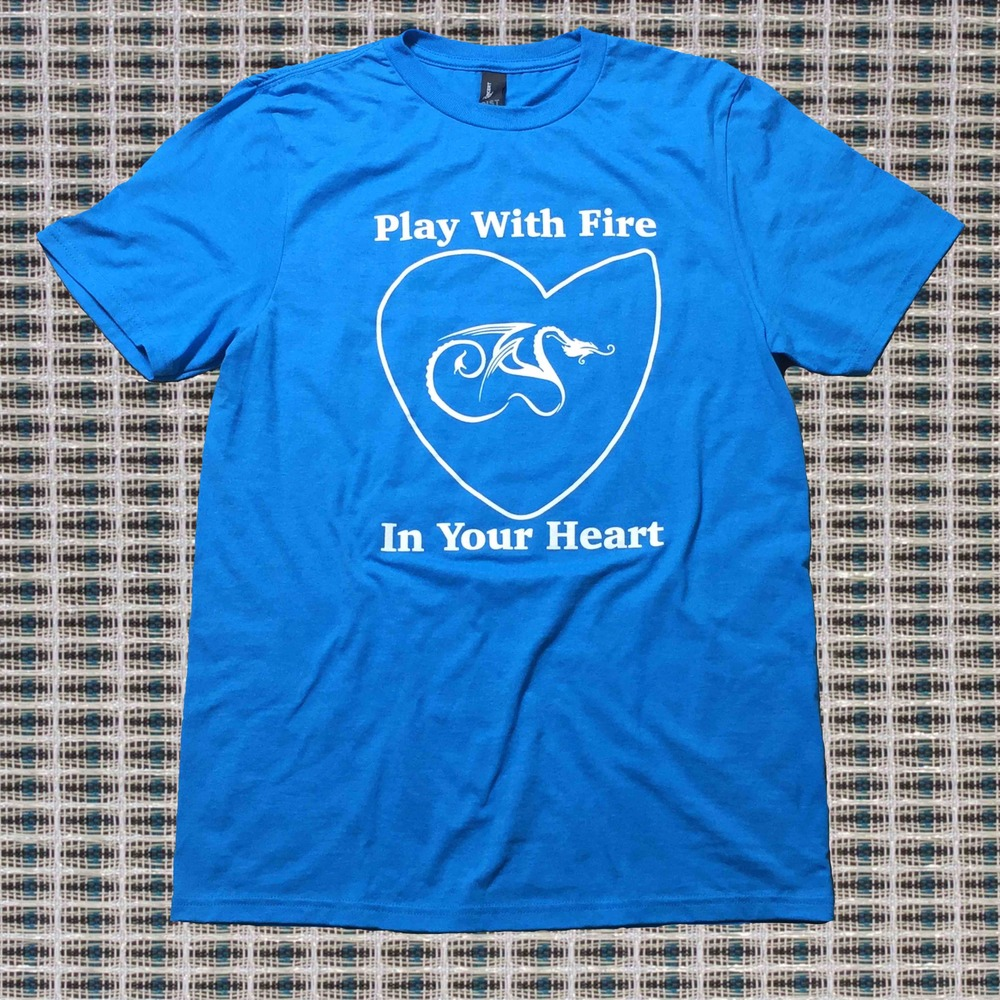Play with fire in your heart