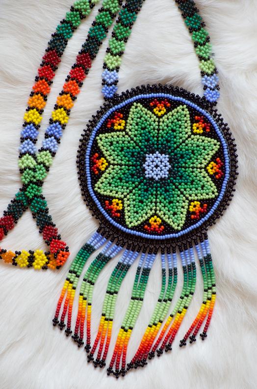 Beaded Navajo Mandala    Nikon D3200 • Nikon 55-200mm lens • 116mm • F/8 • 1/3s • ISO 400