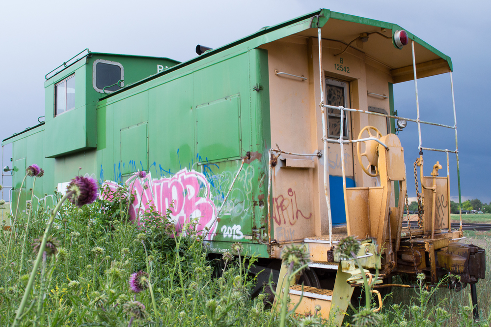 If This Caboose Could Talk    Nikon D3200 • Nikon 18-55mm lens • 20mm • F/8 • 1/60s • ISO 400