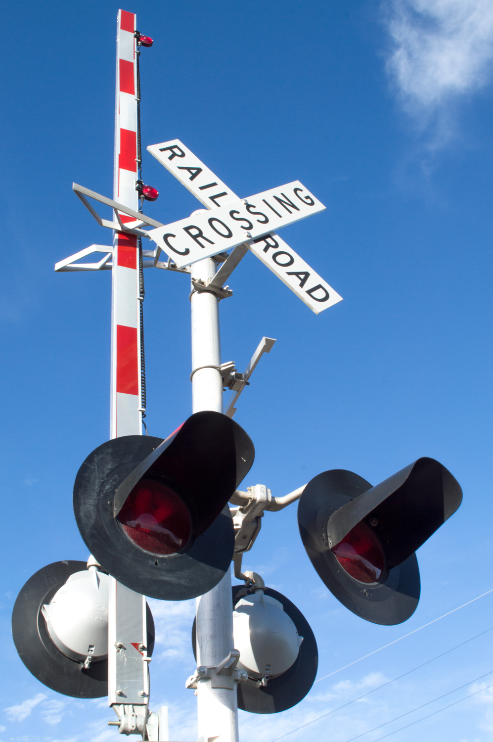 Rail Road Crossing    Nikon D3200 • Nikon 18-55mm lens • 24mm • F/22 • 1/40s • ISO 100