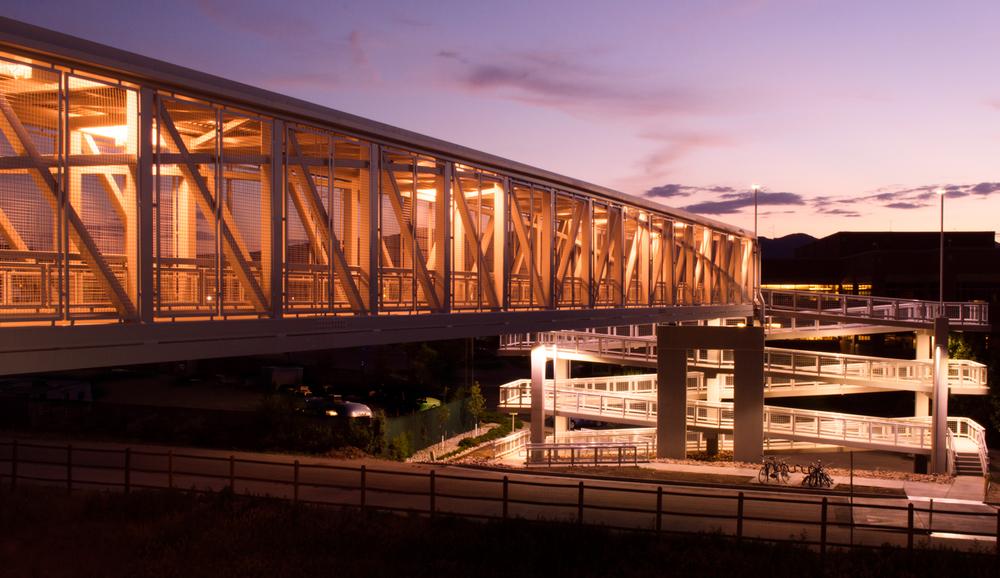 Max Station Bridge, Fort Collins, CO    Nikon D3200 • Nikon 18-55mm lens • 22mm • F/25 • 6s • ISO 100