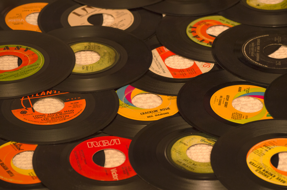 Music Collection from 1960's    Nikon D3200 • Nikon 55-200mm lens • 85mm • F/6.3 • 1s • ISO 400