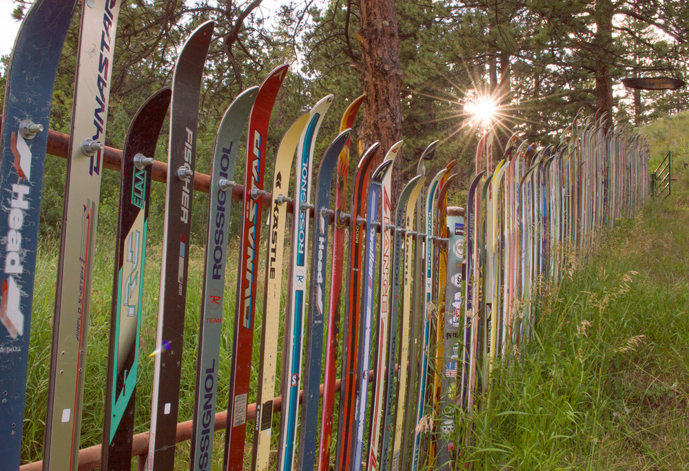 Ski Fence, Rist Canyon, CO    Nikon D3200 • Nikon 18-55mm lens • 18mm • F/14 • 1/80s • ISO 200