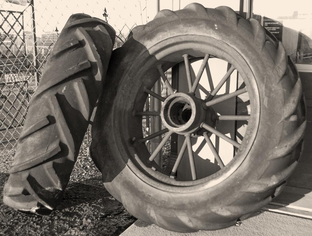 Spoked Wheels    Nikon D3200 • Nikon 18-55mm lens • 24mm • F/4 • 1/1250s • ISO 800