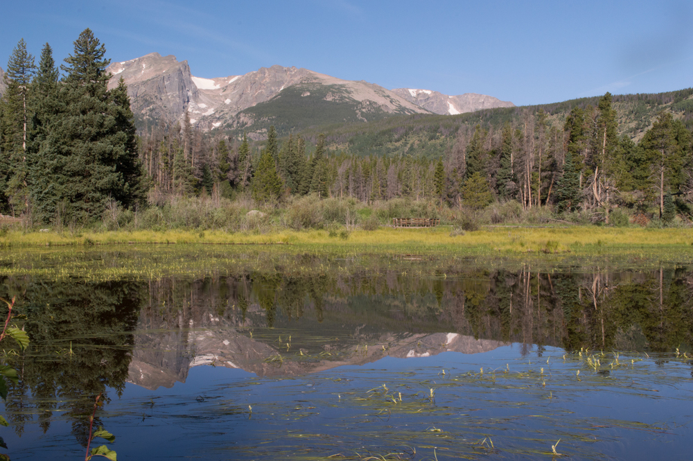 Sprague Lake, Rocky Mountain National Park    Nikon D3200 • Nikon 18-55mm lens • 32mm • F/25 • 1/50s • ISO 400