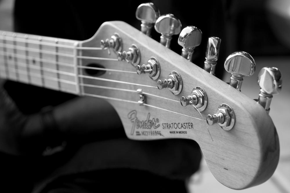 Fender Stratocaster    Nikon D3200 • Nikon 18-55mm lens • 40mm • F/6.3 • 1/80s • ISO 400