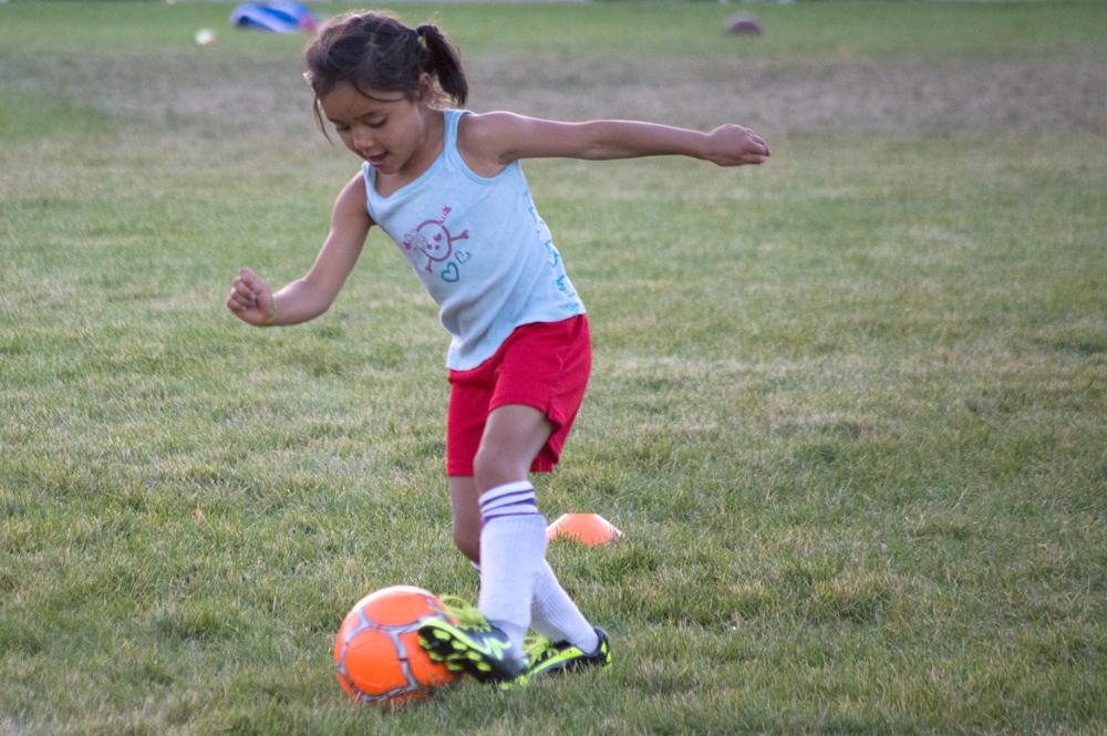 Soccer Player    Nikon D3200 • Nikon 55-200mm lens • 165mm • F5.3 • 1/500s • ISO 1800
