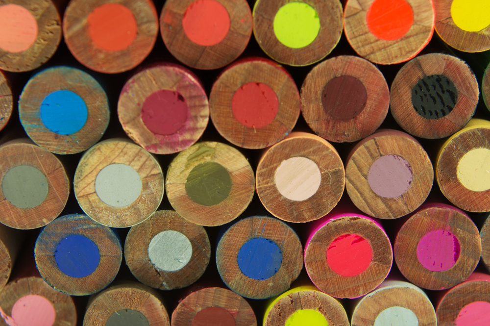 Abstract Colored Pencils    Nikon D3200 • Nikon 18-55mm lens • 55mm • F/11 • 1/2s • ISO 100