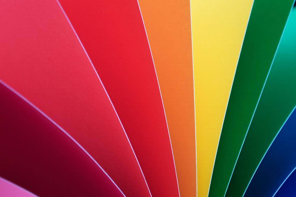 Colored Paper Fan    Nikon D3200 • Nikon 18-55mm lens • 55mm • F/5.6 • 1/6s • ISO 100