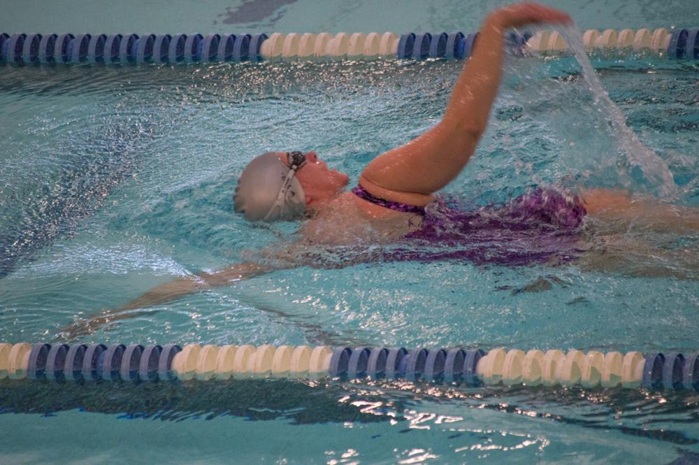 Swimmer    Nikon D3200 • Nikon 55-200mm lens • 200mm • F/5.6 • 1/125s • ISO 3200