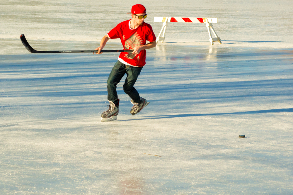 Zach Practicing on City Park Lake, Fort Collins    Nikon D3200 • Nikon 55-200mm lens • 82mm • F/10 • 1/1250s • ISO 800