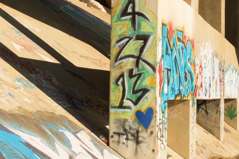 Under Pass Graffiti    Nikon D3200 • Nikon 18-55mm lens • 55mm • F/25 • 1/200s • ISO 800