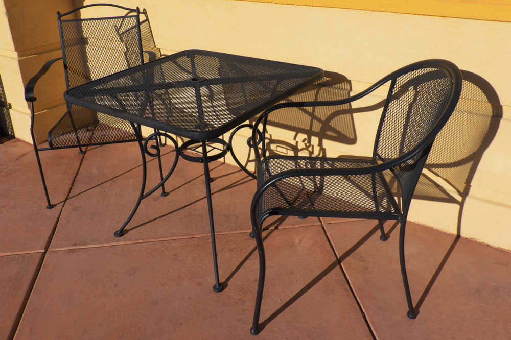 Furniture Shadows on the Patio    Fujifilm X-E2 • Fuji XF18-135mm lens • 18mm • F/22 • 1/900s • ISO 200