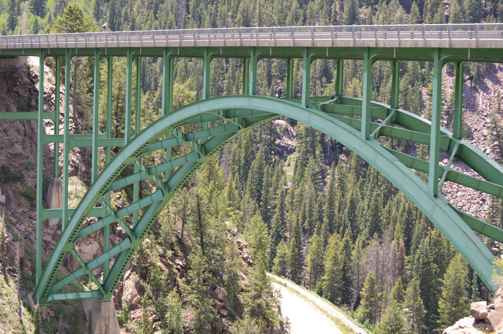 Red Cliff Bridge, built in 1940 near Minturn, Colorado    Nikon D3200 • Nikon 18-55mm lens • 55mm • F/8 • 1/125s • ISO 200
