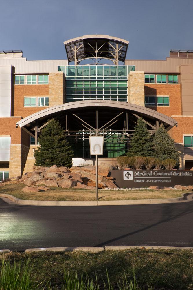 Medical Center of the Rockies, Loveland, CO  Fujifilm X-E2 • Fuji XF18-135mm lens • 29.3mm • F/22 • 1/140s • ISO 800