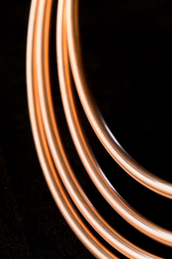 Copper Coil    Fujifilm X-E2 • Fuji XF18-135mm lens • 116.10mm • F/9 • 1/12s • ISO 400