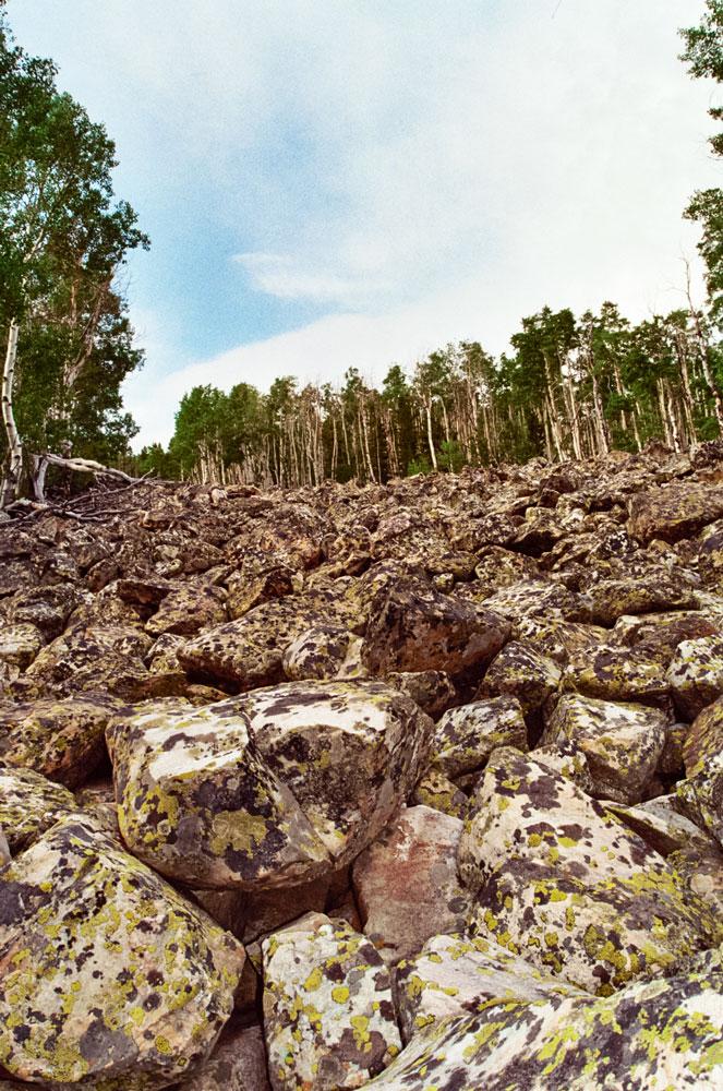 Massive Boulder Field, Medicine Bow National Park, 2006    35mm Pentax ME