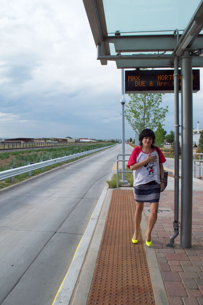 Bus Stop Girl Nikon D3200 • Nikon 18-55mm lens • 18mm • F/14 • 1/320s • ISO 400