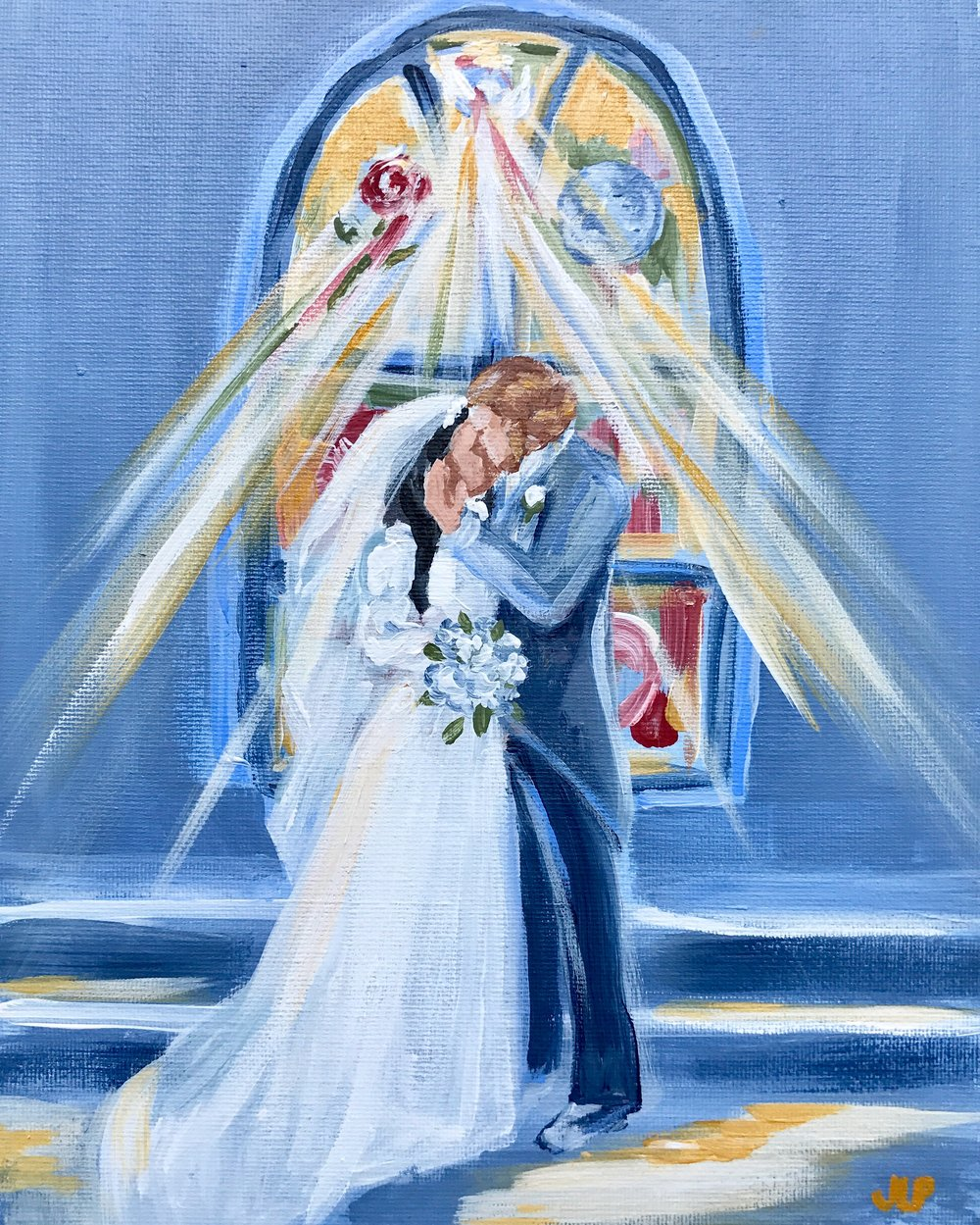 Wedding Painting.