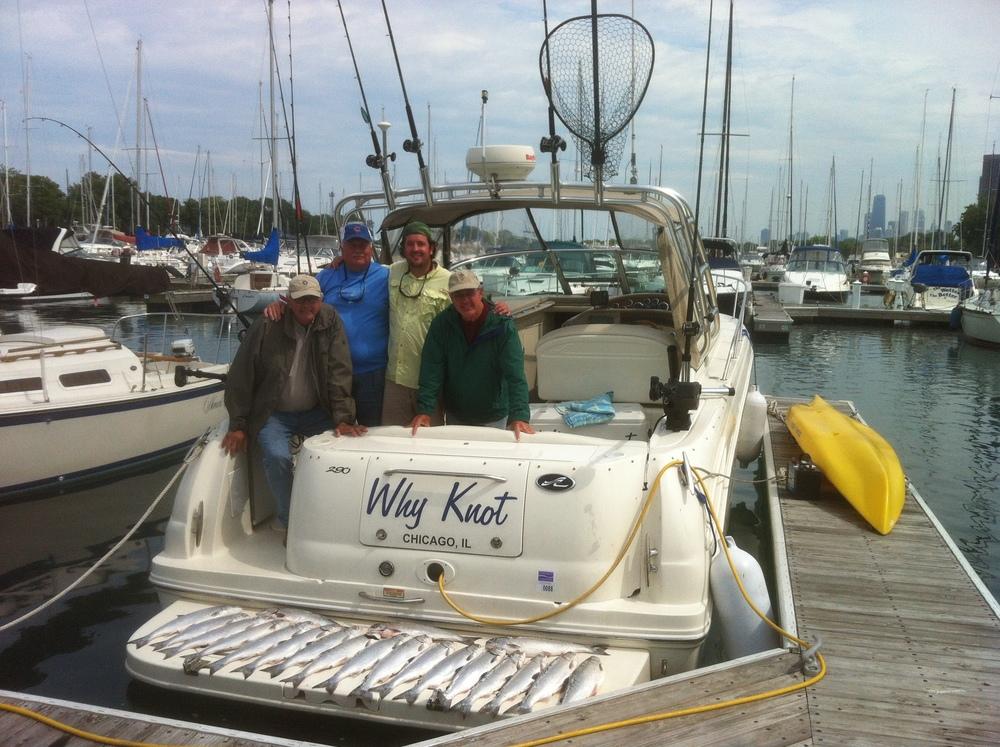 June Coho Salmon Fishing