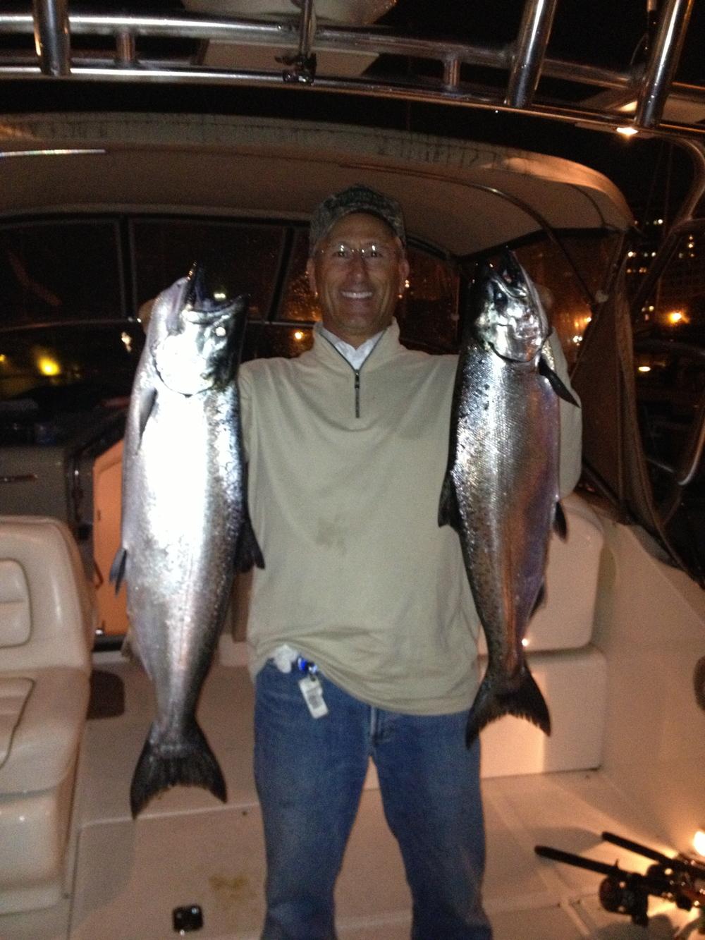 Evening Salmon Fishing
