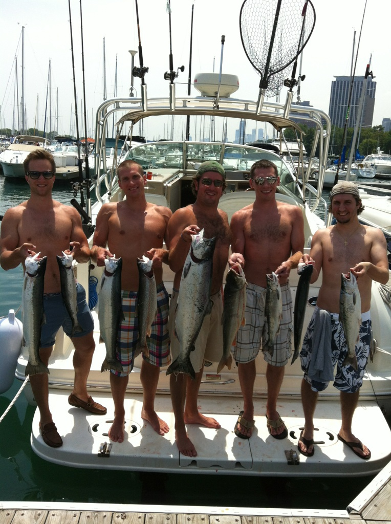 Summer 2012 Salmon Fishing