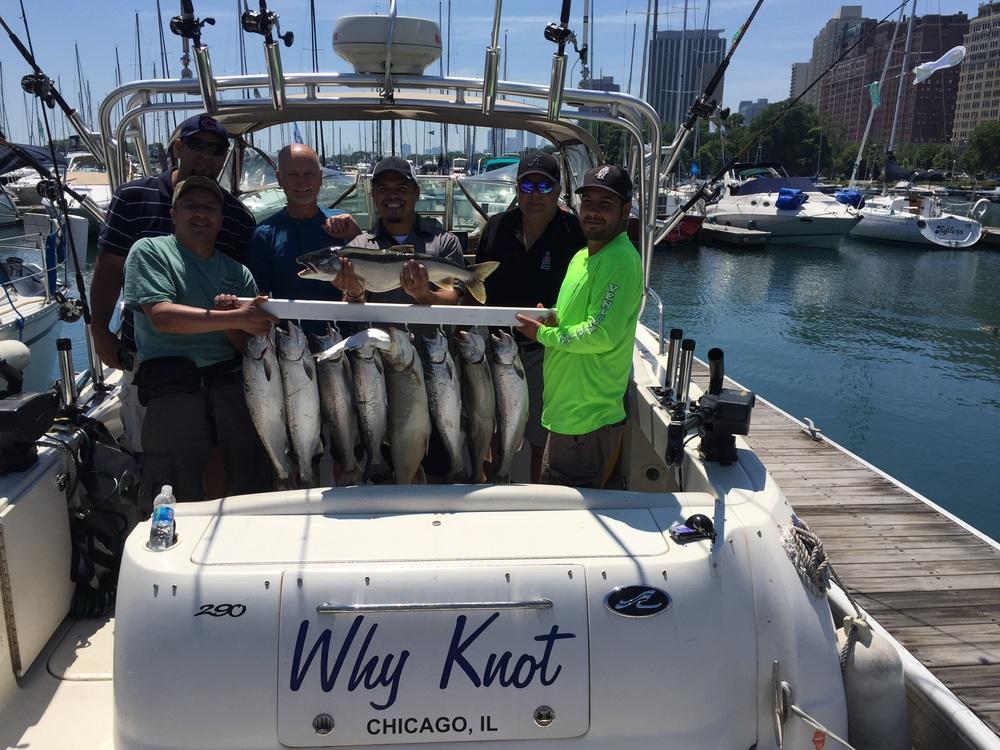 June Salmon Fishing